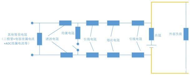 单体采集电路模型