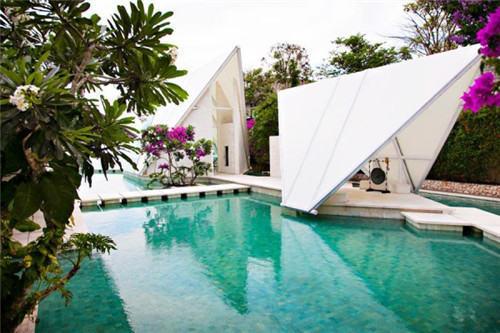 户外婚礼:巴厘岛简约清新的小型婚礼