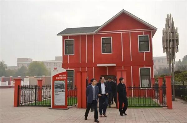 山东省泗水县代县长薛超文 引入卓达绿建产业,推动泗水新城建设