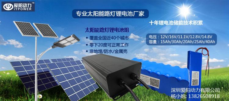 一体化太阳能路灯锂电池(iyp-12v20ah-a3)