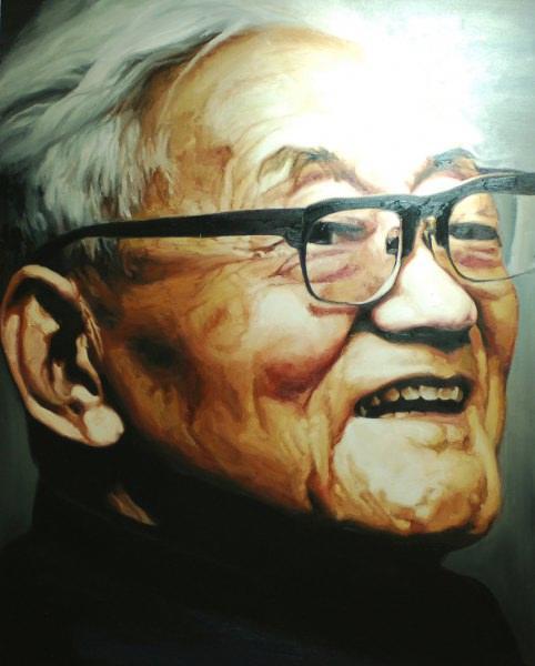 【感动中国人物】肖像油画创作完成作品预览