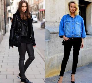搭配各种鞋子各种风格,一年四季都毫无压力.-万能的黑色裤,满足