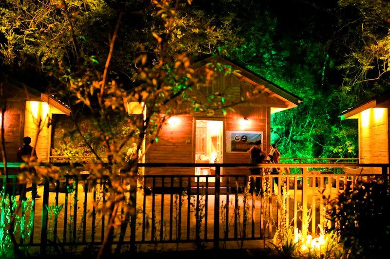 神龙架林间小木屋